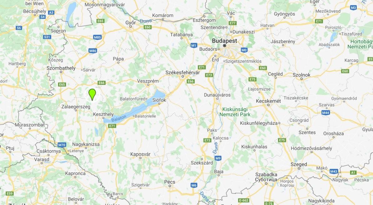 Zalaszentgrót térképen