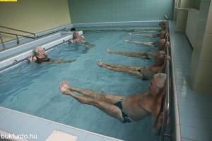 vízi gyógytorna Bükfürdőn