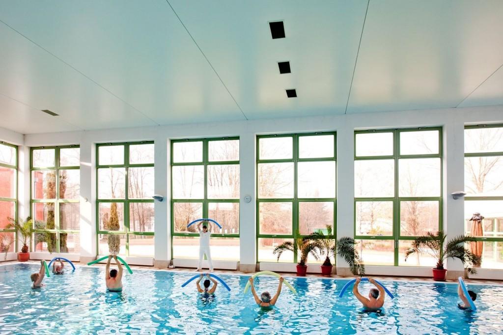 Aquafitness a Thermal Hotel Harkányban