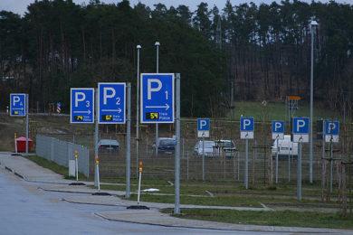 Parkolás a termálfürdőknél