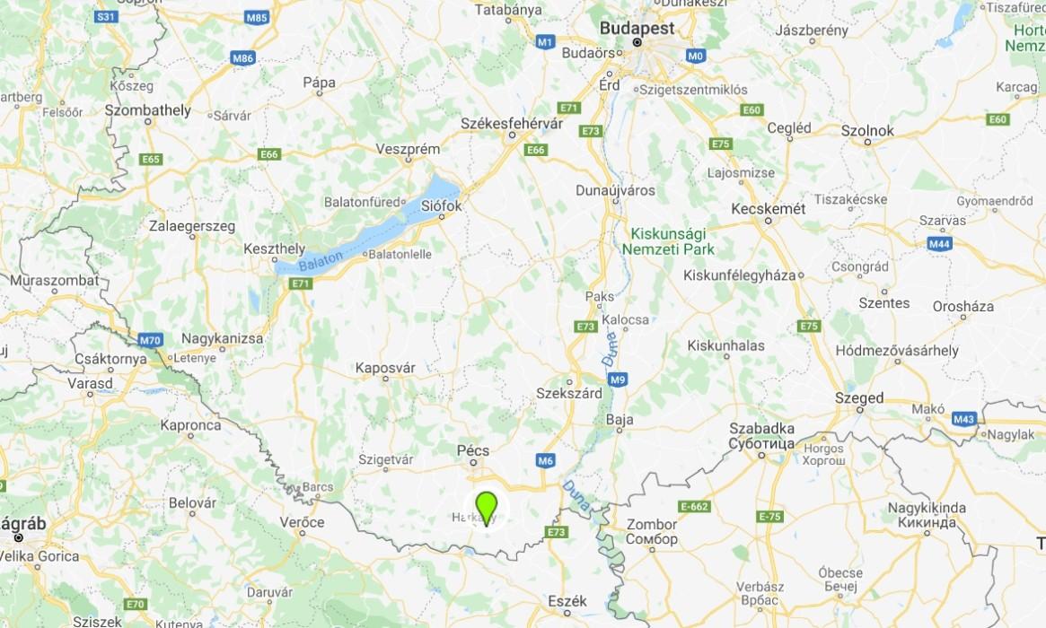 Siklós térképen