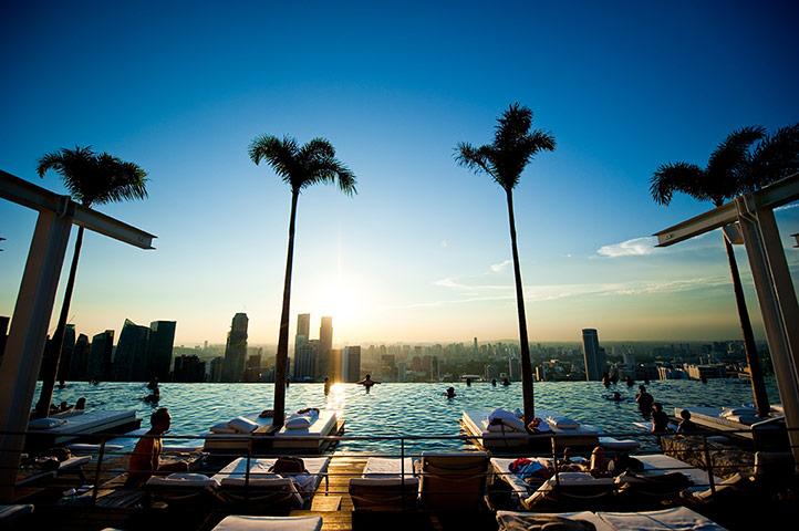 Szingapúr, strand