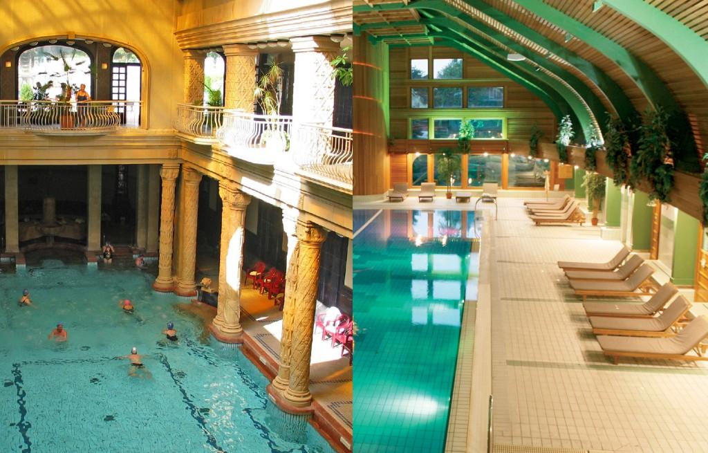 Hotel Carbona és Gellért Fürdő