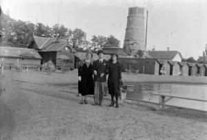 Gyopárosfürdő 1930-ban (Fotó: Fortepan)