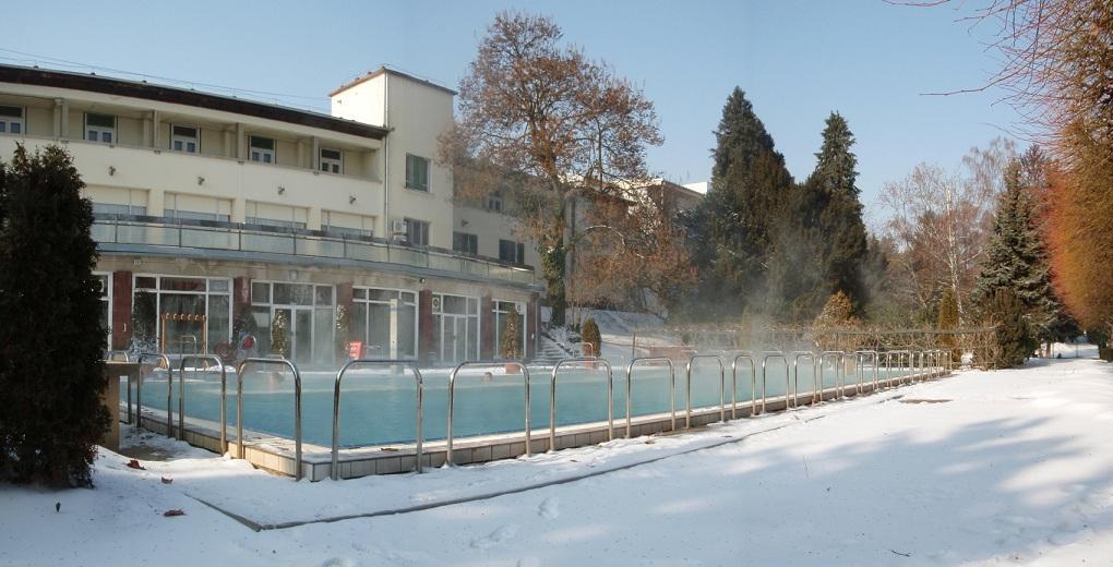 A Hotel Aquamarin télen