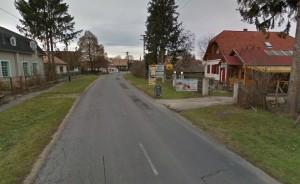 Kehidakustányi utcakép