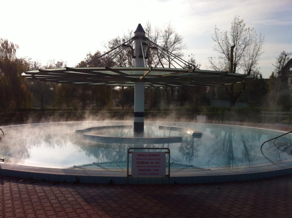 Csepeli Fürdő télen