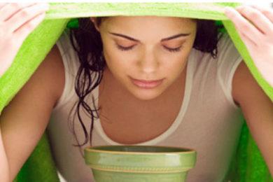 Az arcgőzfürdő hatása
