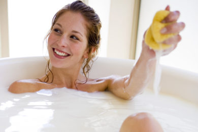 Ilyen a kecsketejes wellness fürdő
