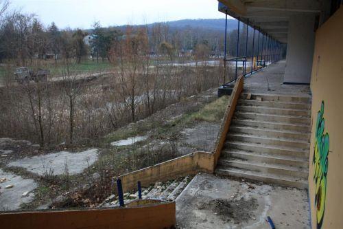 A strandfürdő jelenlegi állapota (Forrás: Minap.hu)