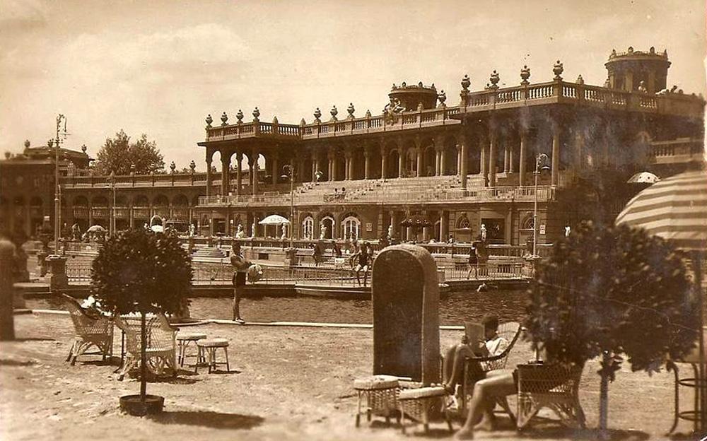 Széchenyi Gyógyfürdő az 1930-as éveben (Fotó: egykor.hu)