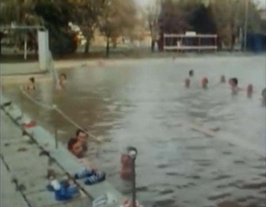 Bükfürdő régi gyógyvizes medence