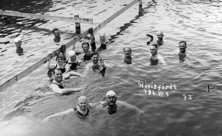 Hévíz 1936 nyarán
