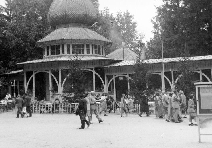Hévíz tejcsarnok 1948
