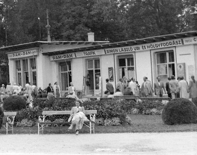 Hévíz bejárat 1948