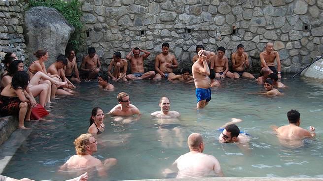 Tatopani termálfürdő