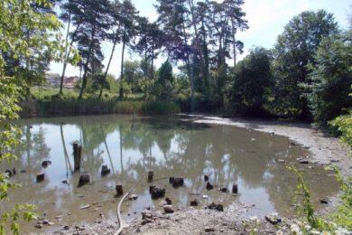 Töketlenkedtek, ezért eltűnhet a termálvizű tó