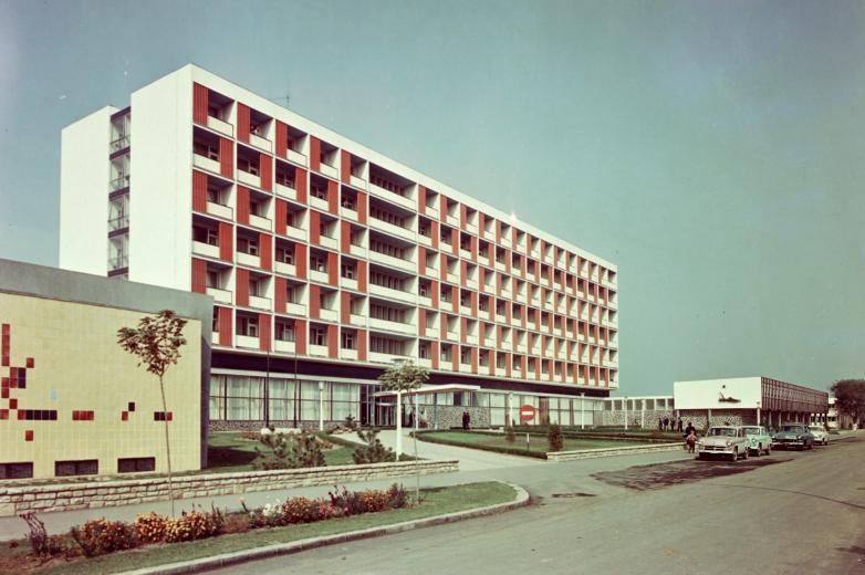 Hajdúszoboszló, Béke Hotel 1962-ben