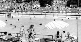Archív fotókon a zalai fürdők