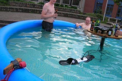 áram medence