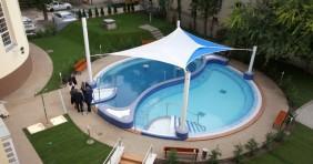 Így néz ki a Dandár Fürdő új medencéje
