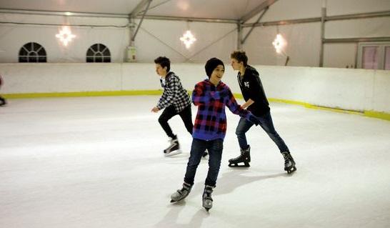 Hévíz korcsolyapálya
