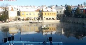 Városi tó, ami ilyenkor sem fagy be