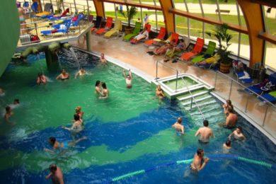 300 ezer vendég a szoboszlói élményfürdőben