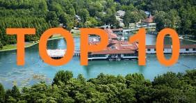 A 10 legnépszerűbb termálfürdős település 2014-ben