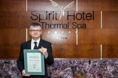 Díjat kapott a sárvári Spirit Hotel