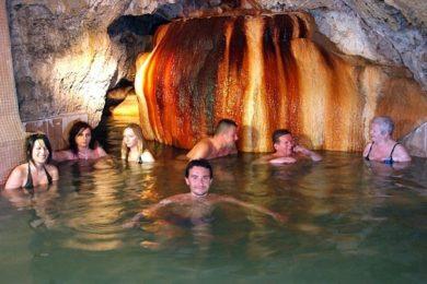 Ilyen a szlovákok barlangfürdője