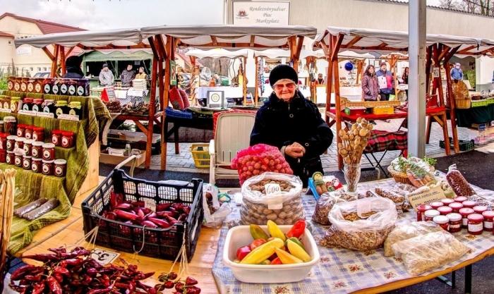 Hévíz helyi piac