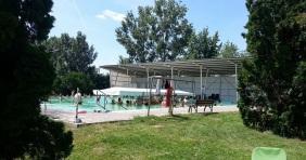 Május végén nyit a Csornai Fürdő