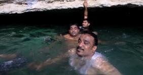 Szennyvíz tölti a szaúdi barlangfürdőt