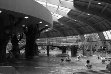 Világnapi fürdőzés Hajdúszoboszlón