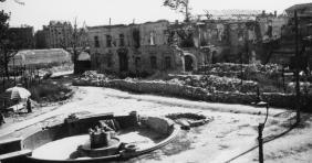 Amikor lebombázták a Rudas Fürdőt