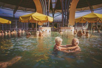 A hétvégén két termálfürdő is 55 éves lesz