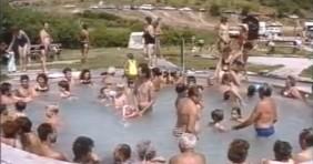 1993-as felvétel az egerszalóki termálfürdőről