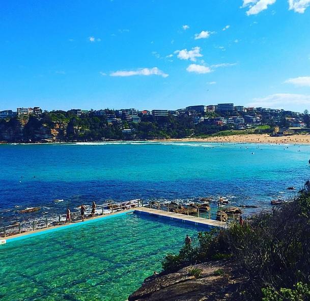 Freshwater Ocean Pool Ausztrália