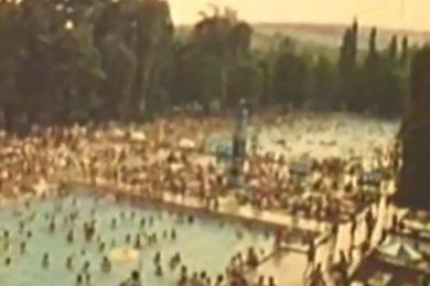 Videó: 45 éve ilyen volt a miskolctapolcai strand
