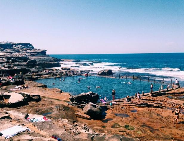 Mahon Pool Ausztrália