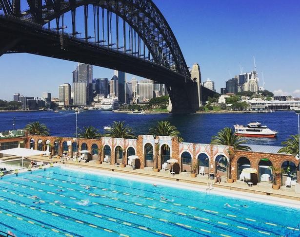 Sydney Olimpic Pool Ausztrália