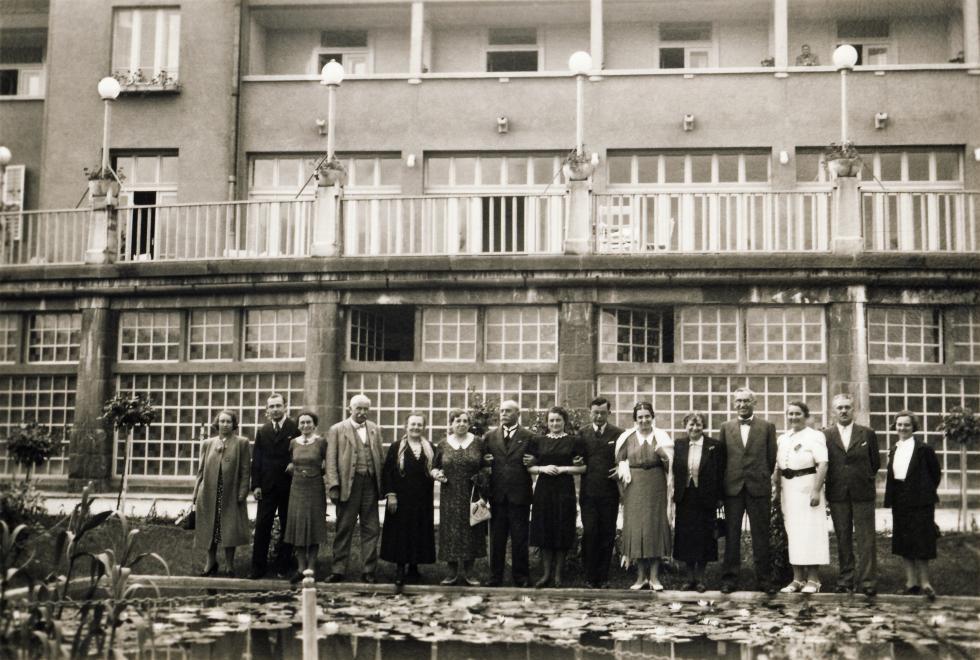 Hévíz Postás Üdülő 1939