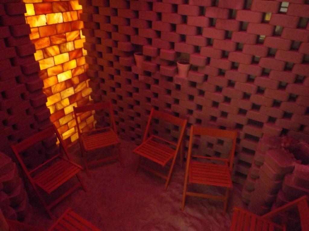 Brigetio fürdő sószoba