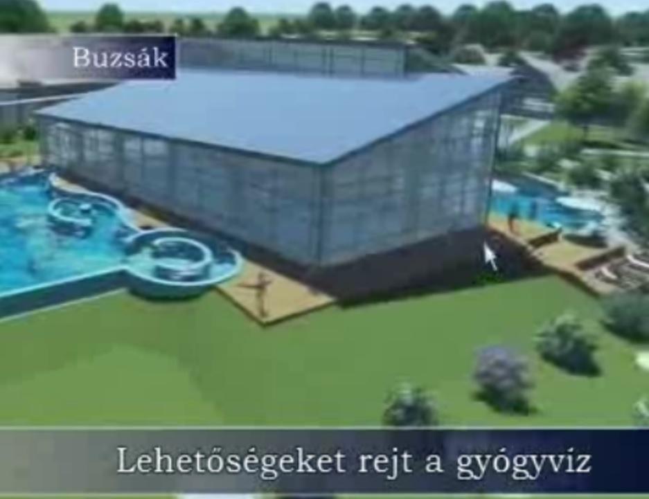 Buzsák Csiszta Fürdő fejlesztés