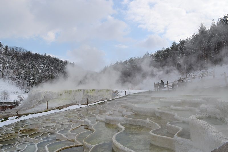Egerszalók sódomb télen
