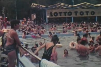 Ilyen volt a Harkányi Gyógyfürdő 35 éve