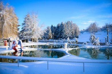 Behavazódtak a hazai termálfürdők - ritka jó fotók