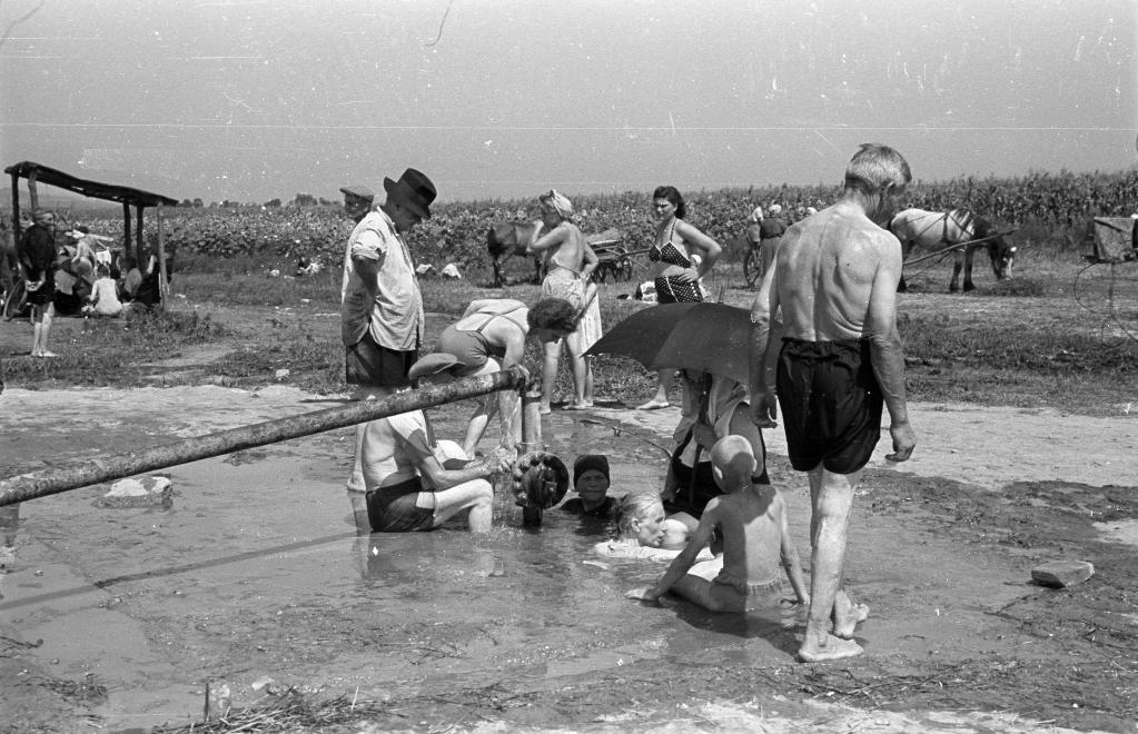 Csiszta termálfürdő régen