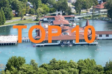 A 10 legnépszerűbb termálfürdős település 2015-ben